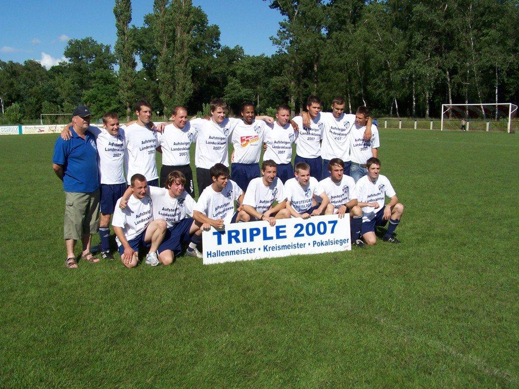1. Mannschaft Triple 2007