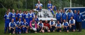 1. und 2. Mannschaft mit VW T3