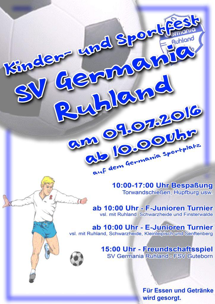 Kinder- und Sportfest 2016