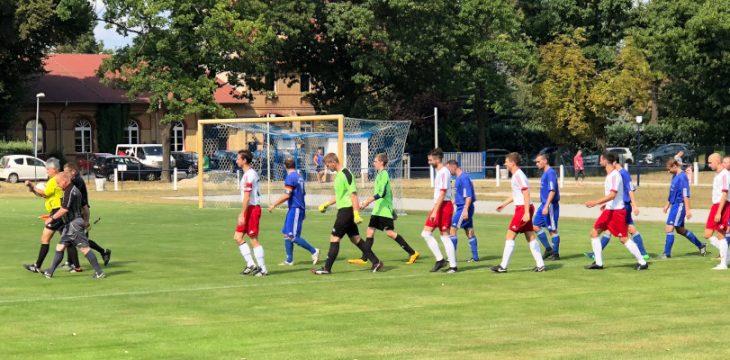 1. Runde Kreispokal – Ruhland – Schipkau 4:1 (1:1)