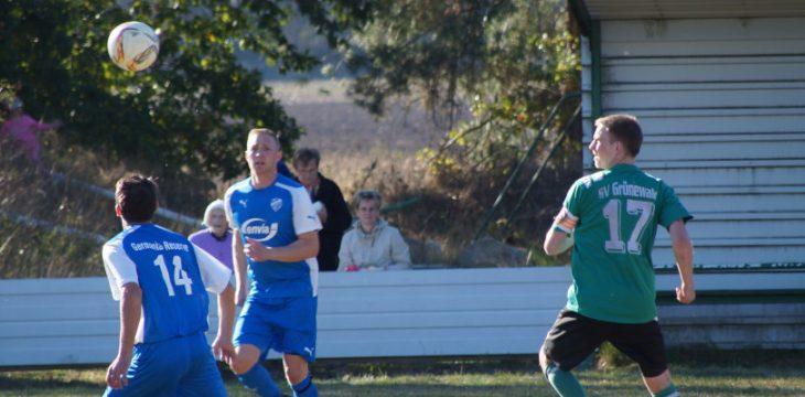 5. Spieltag – Grünewald – Ruhland II 0:2 (0:1)