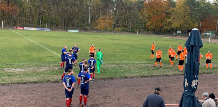 9. Spieltag – Lauchhammer II – Ruhland 2:6 (2:4)