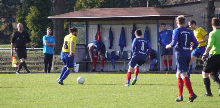 20. Spieltag – Ruhland – Golßen 1:2 (0:0)