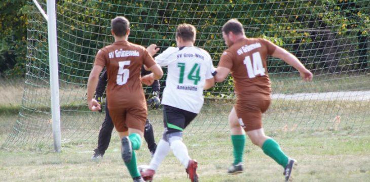 3. Spieltag – Grünewald – Ruhland II/Annahütte II 4:0 (1:0)